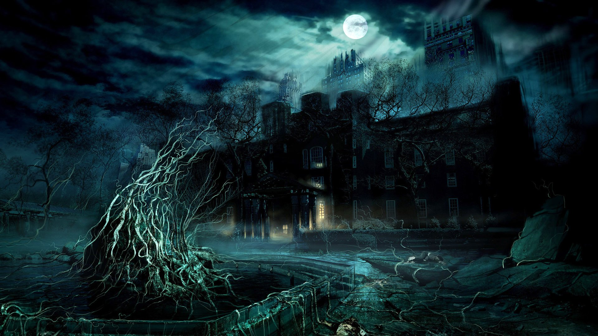 Scary Wallpapers and Modern Wallpaper