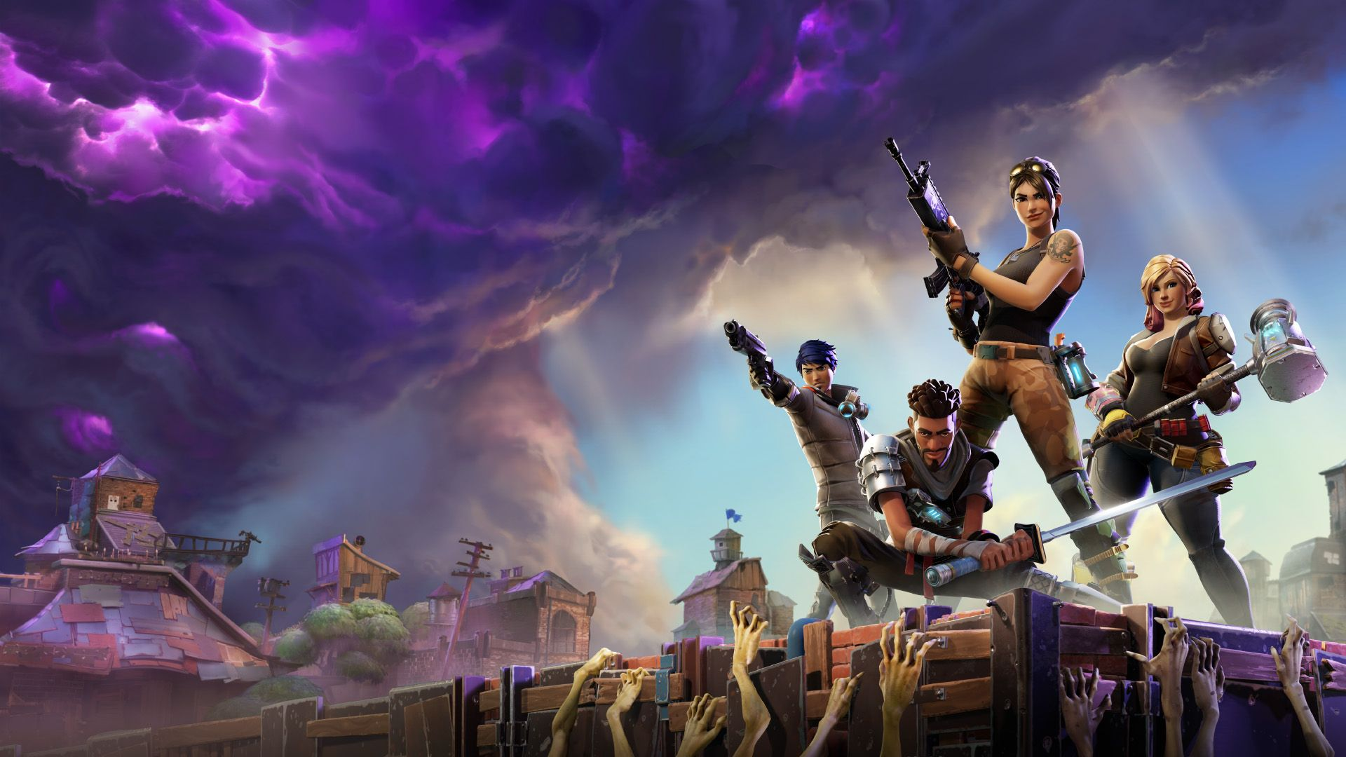 How To Download 1080p Fortnite Wallpaper To Your Computer