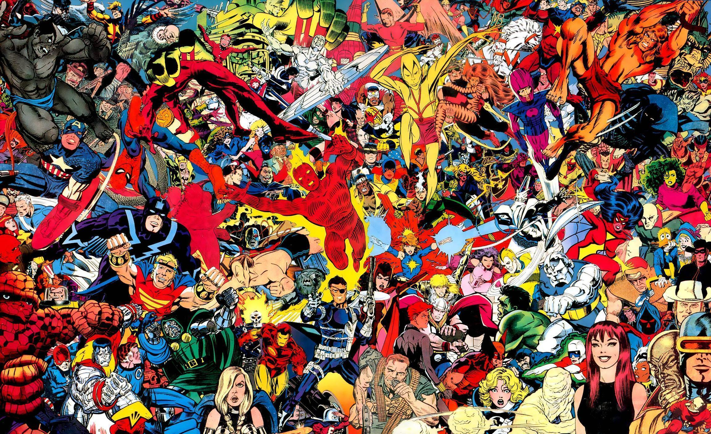 Download 1920×1080 Marvel Wallpaper To Give Your Computer A New Look