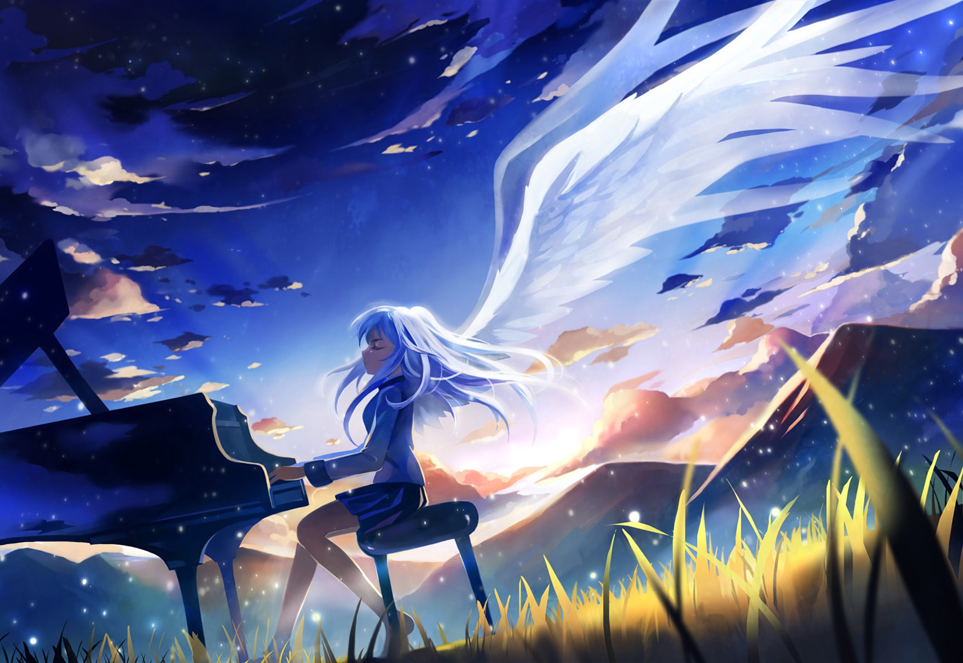 Angel Beats Wallpaper – wallpapers to Spruce Up Your Laptop