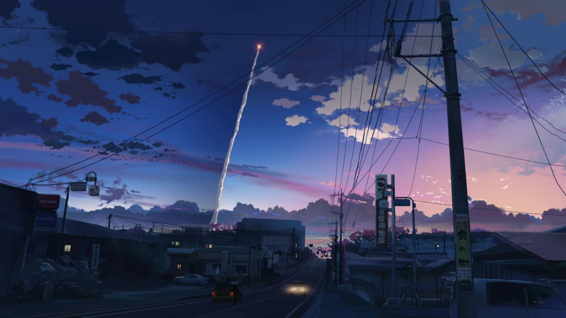 Cool Anime City Wallpaper Ideas!