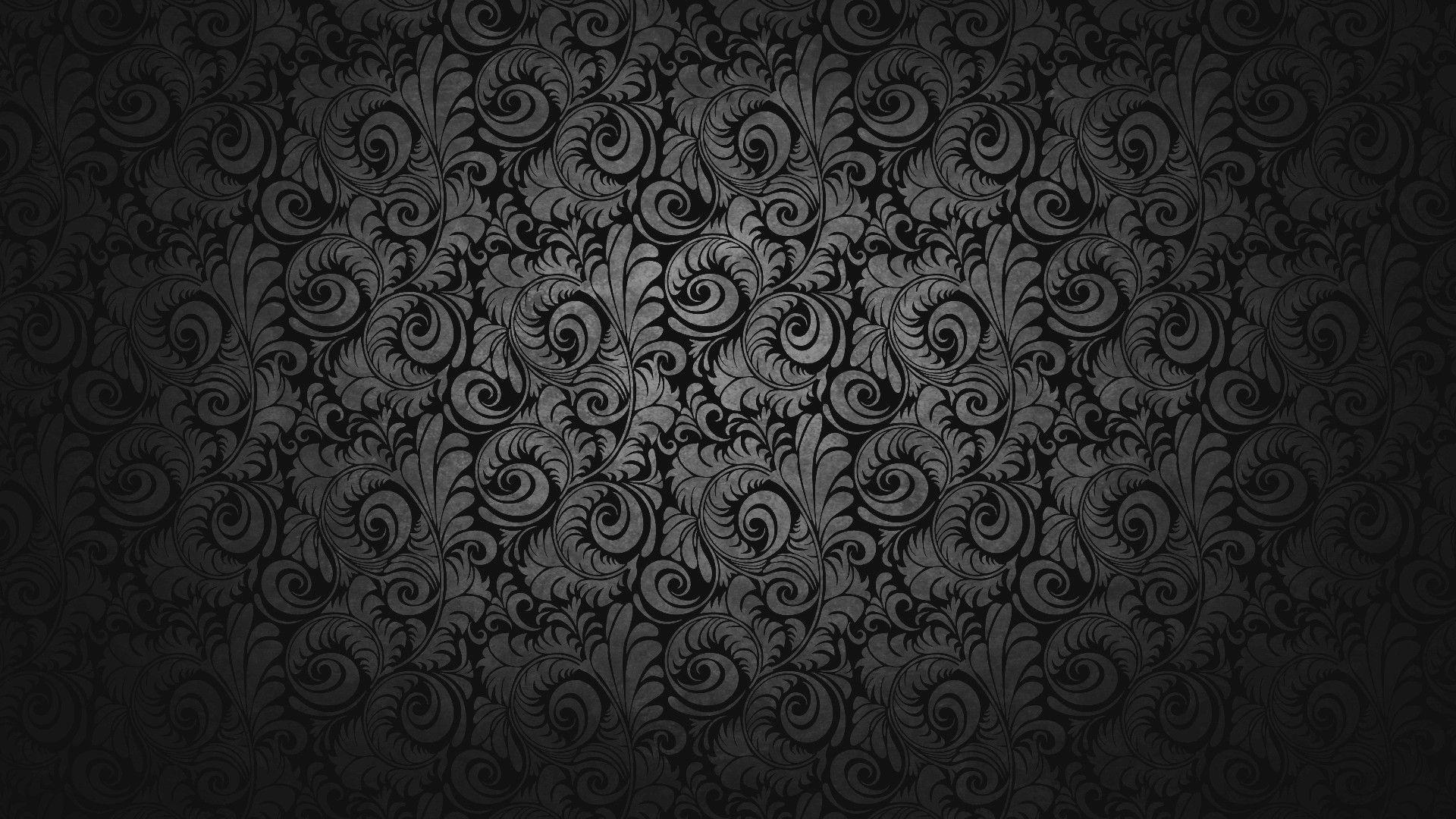 The Latest Black Design Wallpaper